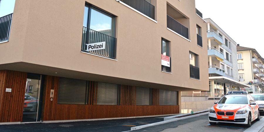 Bild Polizeiposten Amriswil