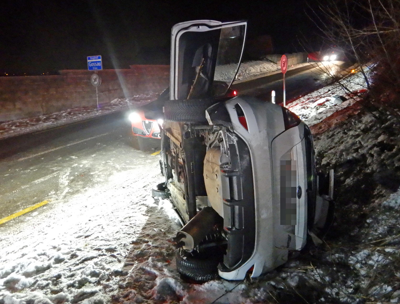 Bild Verkehrsunfall Bischofszell